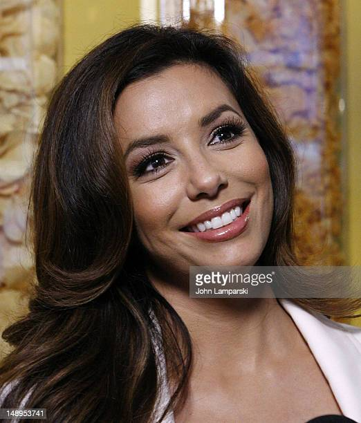 Eva Longoria attends Lay's Do Us A Flavor contest kickoff in Times Square on July 20 2012 in New York City