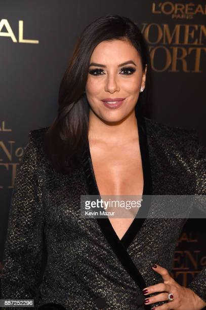 Eva Longoria attends L'Oreal Paris Women of Worth Celebration 2017 on December 6 2017 in New York City
