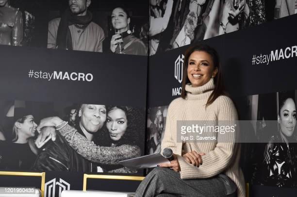 Eva Longoria attends MACRO Lodge Presents Netflix GENTEFIED Panel With Eva Longoria on January 25 2020 in Park City Utah
