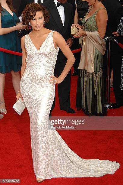 Eva Longoria attends The 14th Annual Screen Actors Guild Awards Arrivals at The Shrine Auditorium on January 27 2008 in Los Angeles CA