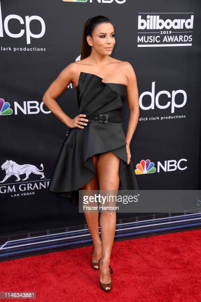 Eva Longoria attends the 2019 Billboard Music Awards at MGM Grand Garden Arena on May 01 2019 in Las Vegas Nevada