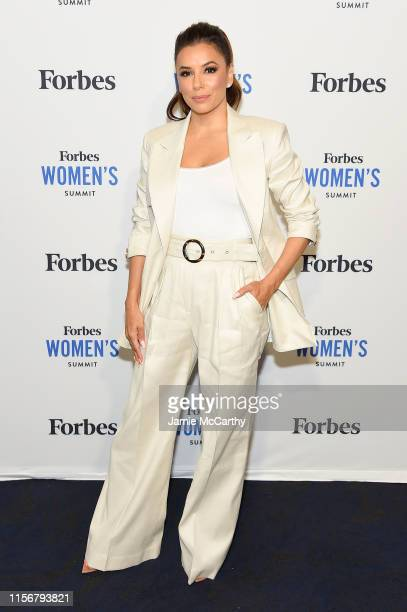 Eva Longoria attends the 2019 Forbes Women's Summit at Pier 60 on June 18, 2019 in New York City.