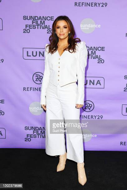 Eva Longoria attends the 2020 Women at Sundance Celebration hosted by Sundance Institute and Refinery29, Presented by LUNA at Juniper at Newpark on...