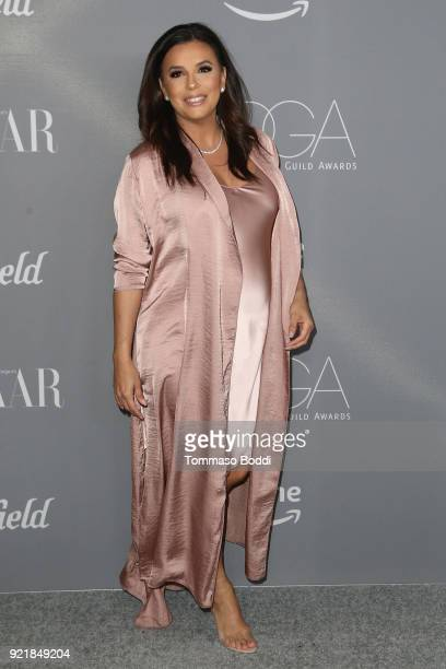 Eva Longoria attends the 20th CDGA on February 20 2018 in Beverly Hills California