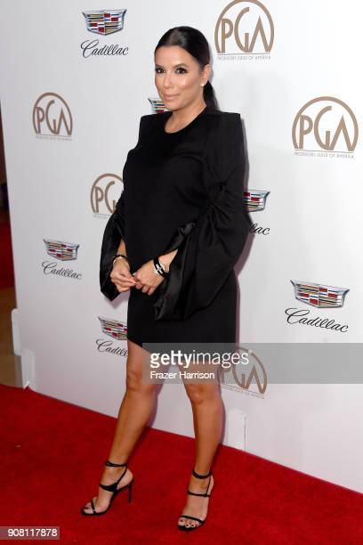 Eva Longoria attends the 29th Annual Producers Guild Awards at The Beverly Hilton Hotel on January 20 2018 in Beverly Hills California