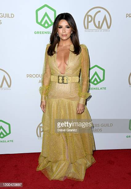 Eva Longoria attends the 31st Annual Producers Guild Awards at Hollywood Palladium on January 18, 2020 in Los Angeles, California.