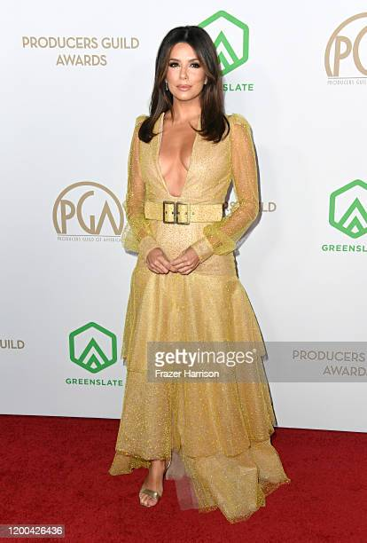Eva Longoria attends the 31st Annual Producers Guild Awards at Hollywood Palladium on January 18 2020 in Los Angeles California