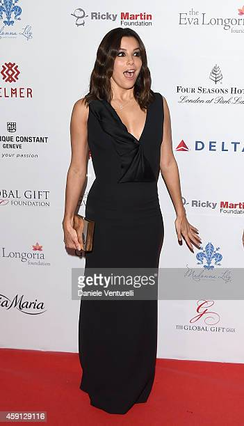 Eva Longoria attends the 5th Global Gift Gala hosted by honorary chair Eva Longoria at the Four Seasons Hotel on November 17 2014 in London England