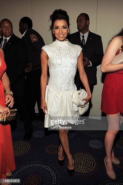 Eva Longoria attends the 98th Annual White House Correspondents' Association Dinner at the Washington Hilton on April 28, 2012 in Washington, DC.