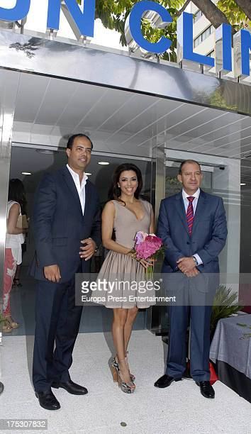 Eva Longoria attends the Aesthetic Centre Opening on August 1 2013 in Marbella Spain