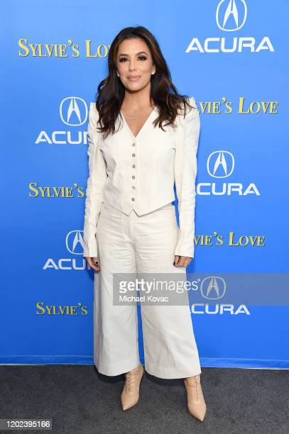 """Eva Longoria attends the after party for """"Sylvie's Love"""" at Acura Festival Village on January 27, 2020 in Park City, Utah."""