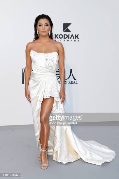 Eva Longoria attends the amfAR Cannes Gala 2019 at Hotel du Cap-Eden-Roc on May 23, 2019 in Cap d'Antibes, France.