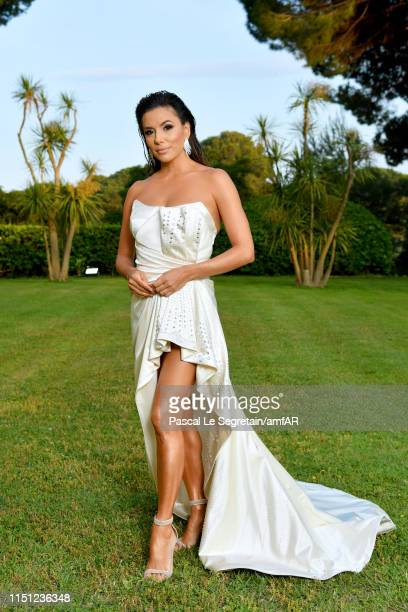 Eva Longoria attends the amfAR Cannes Gala 2019 at Hotel du CapEdenRoc on May 23 2019 in Cap d'Antibes France