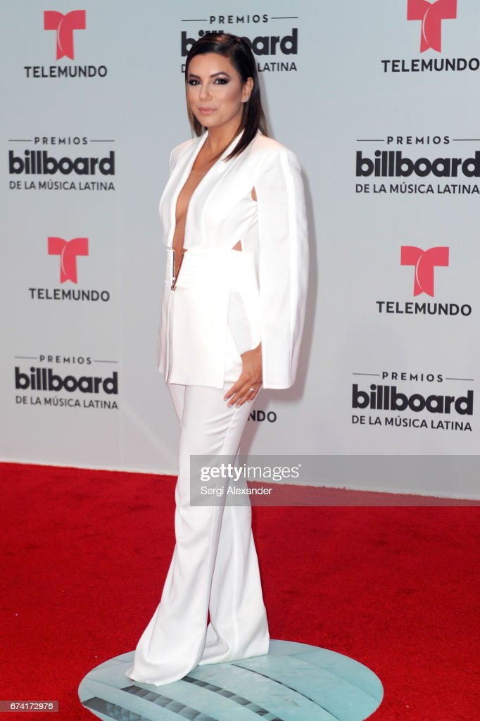 Eva Longoria attends the Billboard Latin Music Awards at Watsco Center on April 27, 2017 in Coral Gables, Florida.