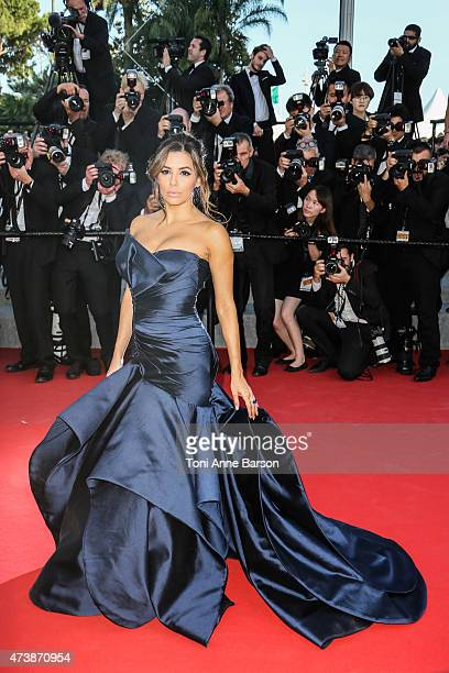 """Eva Longoria attends the """"Carol"""" premiere during the 68th annual Cannes Film Festival on May 17, 2015 in Cannes, France."""
