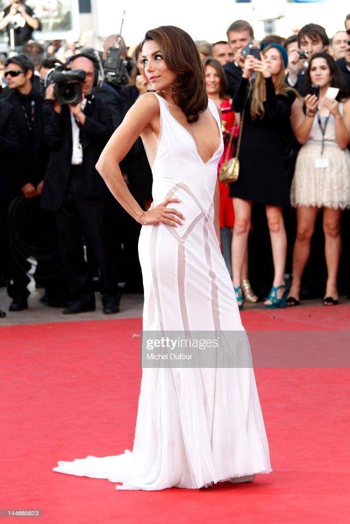 Eva Longoria attends the 'De Rouille et D'os' Premiere during the 65th Annual Cannes Film Festiva at Palais des Festivals on May 17, 2012 in Cannes, France.
