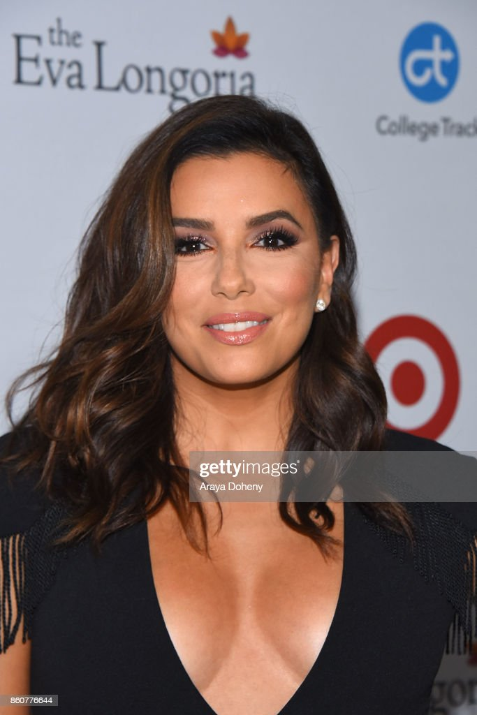 Eva Longoria attends the Eva Longoria Foundation Annual Dinner at Four Seasons Hotel Los Angeles at Beverly Hills on October 12, 2017 in Los Angeles, California.