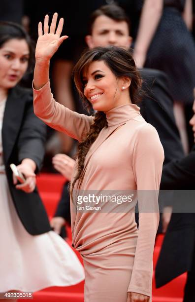 Eva Longoria attends the 'Foxcatcher' premiere during the 67th Annual Cannes Film Festival on May 19 2014 in Cannes France
