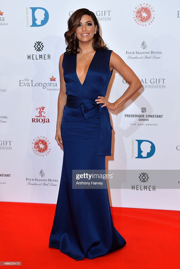 Eva Longoria attends The Global Gift Gala at Four Seasons Hotel on November 30, 2015 in London, England.