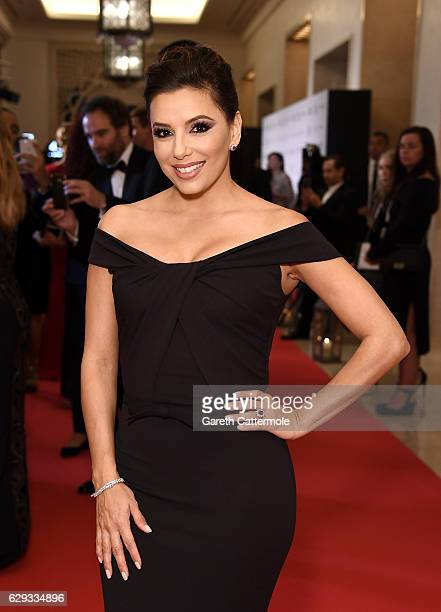 Eva Longoria attends the Global Gift Gala during day six of the 13th annual Dubai International Film Festival held at the Four Seasons Hotel on...