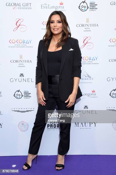Eva Longoria attends The Global Gift gala held at the Corinthia Hotel on November 18 2017 in London England