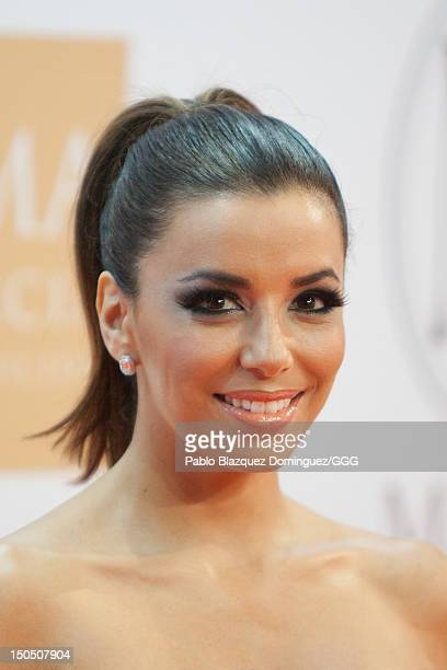 Eva Longoria attends the Global Gift Gala held to raise benefits for Cesare Scariolo Foundation and Eva Longoria Foundation on August 19 2012 in...