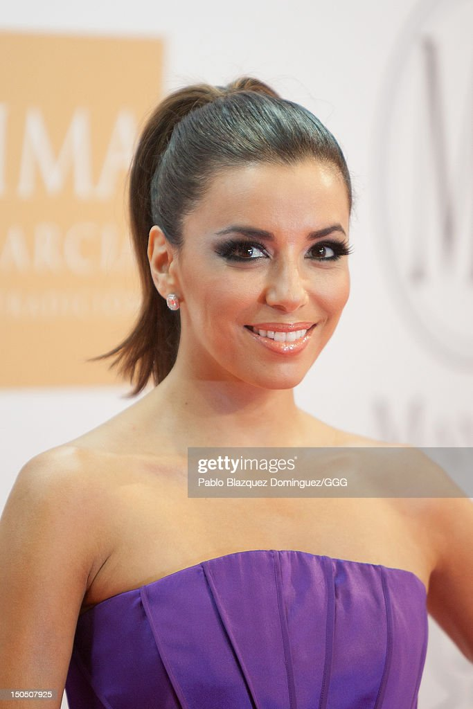 Eva Longoria attends the Global Gift Gala held to raise benefits for Cesare Scariolo Foundation and Eva Longoria Foundation on August 19, 2012 in Marbella, Spain.