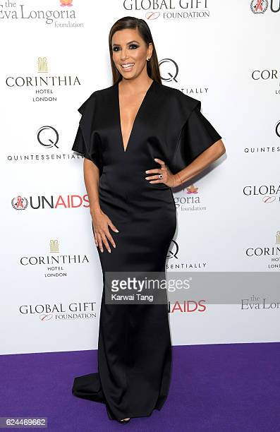 Eva Longoria attends the Global Gift Gala in partnership with Quintessentially on November 19 2016 at the Corithinia Hotel in London United Kingdom