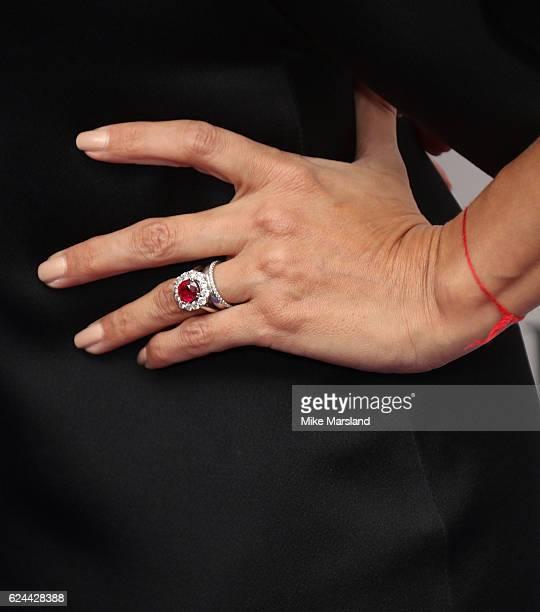 Eva Longoria attends the Global Gift Gala London on November 19 2016 in London United Kingdom