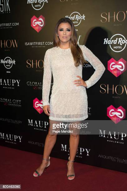 Eva Longoria attends the Global Gift Gala party at STK Ibiza on July 21 2017 in Ibiza Spain