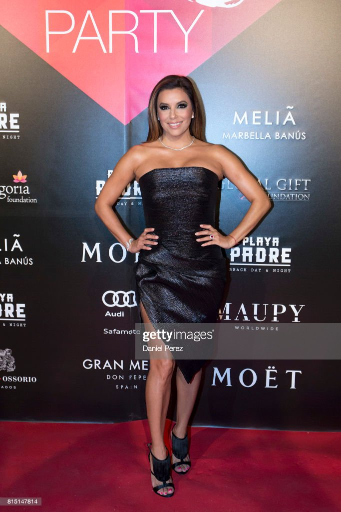 Eva Longoria attends the Global Gift Party Marbella on July 15, 2017 in Marbella, Spain.
