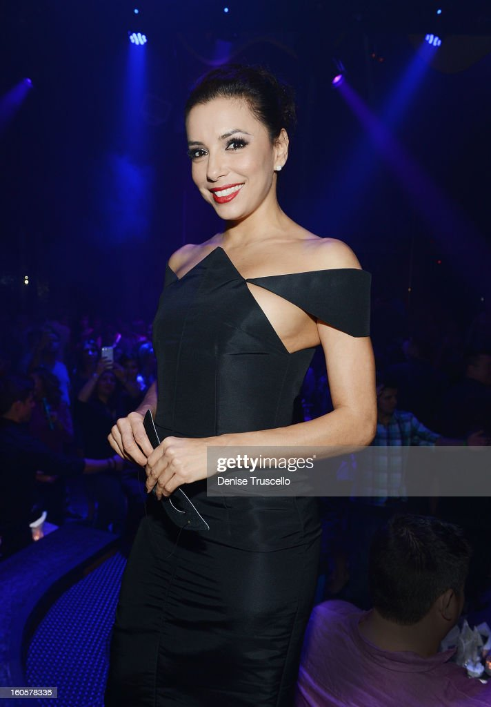 Eva Longoria attends the grand opening of SHe by Morton's at Crystals at CityCenter on February 2, 2013 in Las Vegas, Nevada.