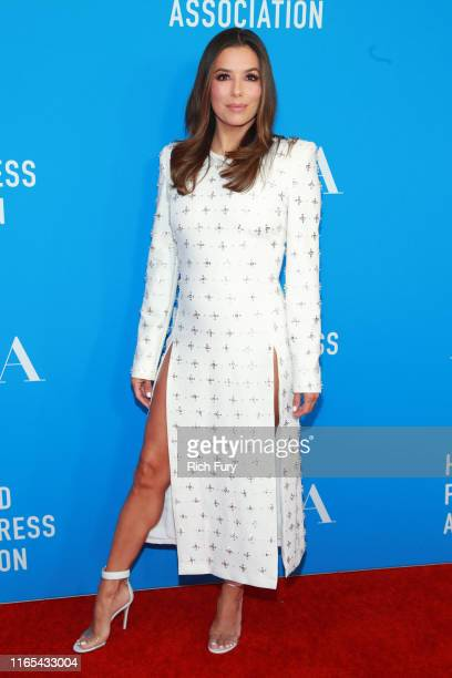 Eva Longoria attends the Hollywood Foreign Press Association's Annual Grants Banquet at Regent Beverly Wilshire Hotel on July 31 2019 in Beverly...