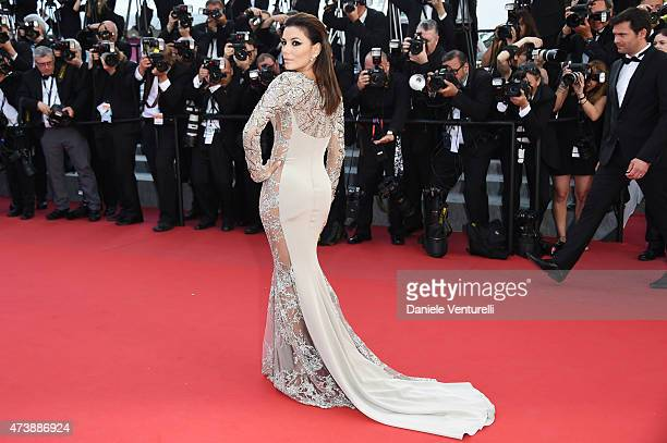 Eva Longoria attends the 'Inside Out' Premiere during the 68th annual Cannes Film Festival on May 18 2015 in Cannes France