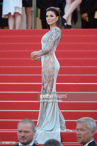 Eva Longoria attends the Inside Out Premiere during the 68th annual Cannes Film Festival on May 18 2015 in Cannes France