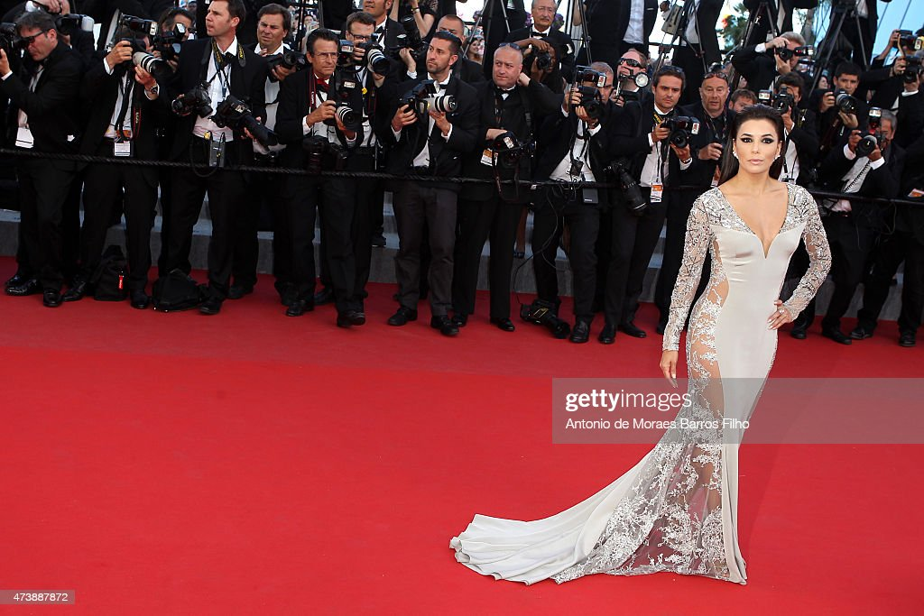 Eva Longoria attends the 'Inside Out' premiere during the 68th annual Cannes Film Festival on May 18, 2015 in Cannes, France.