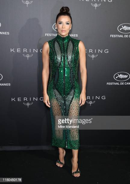 Eva Longoria attends the Kering Women In Motion Awards during the 72nd annual Cannes Film Festival on May 19, 2019 in Cannes, France.