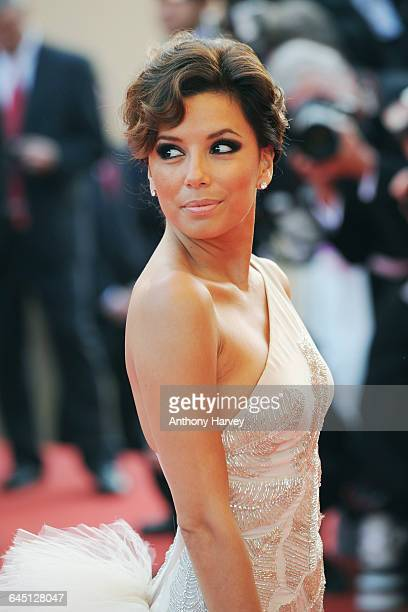 Eva Longoria attends the 'Kung Fu Panda' Premiere at the Palais des Festivals during the 61st International Cannes Film Festival on May 15 2008 in...