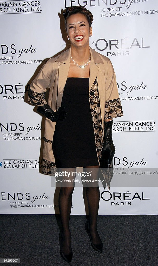 Eva Longoria Attends The Loral Legends Gala Benefiting The Ovarian Cancer Research