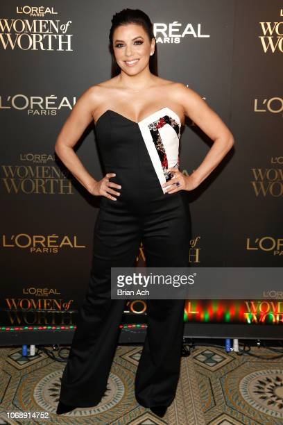 Eva Longoria attends the L'Oréal Paris Women of Worth Celebration at The Pierre Hotel on December 5 2018 in New York City