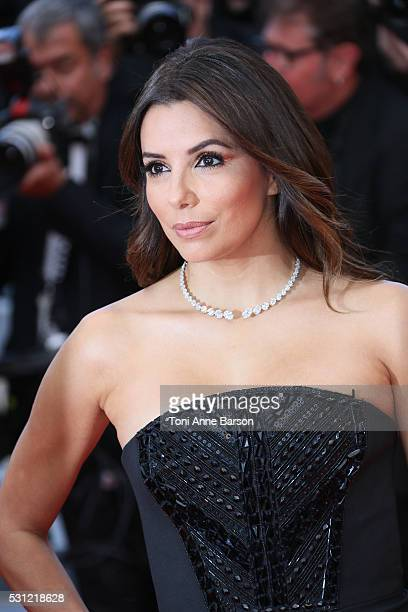 Eva Longoria attends the 'Money Monster' Premiere during the 69th annual Cannes Film Festival on May 12 2016 in Cannes France
