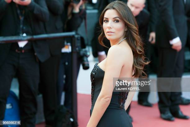 Eva Longoria attends the 'Money Monster' premiere during the 69th annual Cannes Film Festival at the Palais des Festivals on May 12 2016 in Cannes...