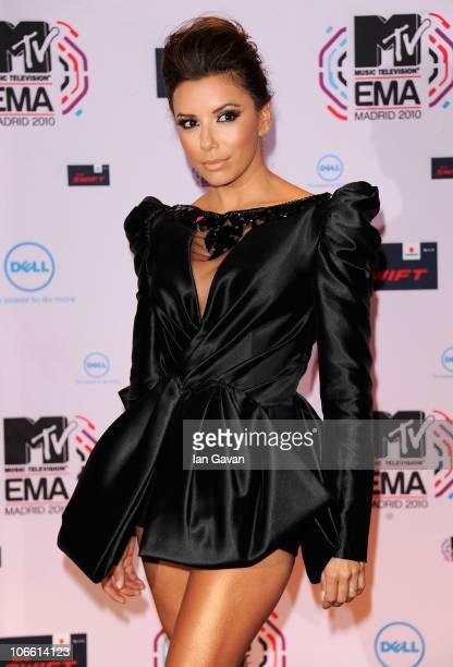 Eva Longoria attends the MTV Europe Awards 2010 at the La Caja Magica on November 7, 2010 in Madrid, Spain.