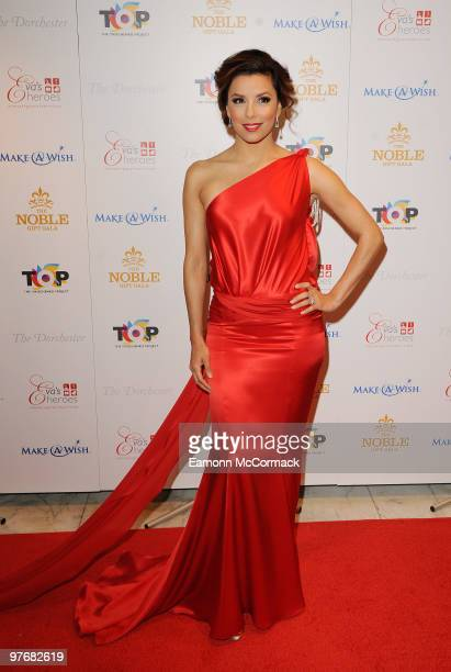 Eva Longoria attends The Noble Gift Gala at The Dorchester on March 13 2010 in London England