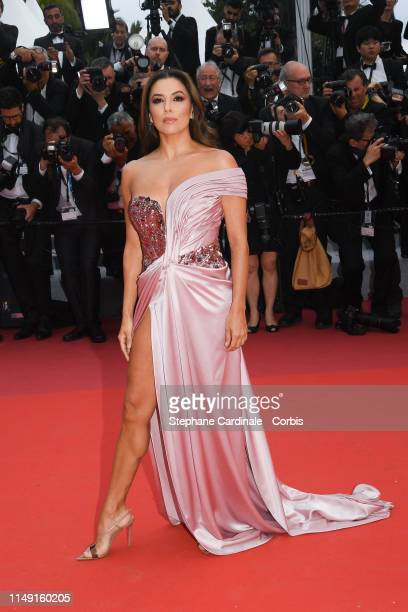 Eva Longoria attends the opening ceremony and screening of The Dead Don't Die during the 72nd annual Cannes Film Festival on May 14 2019 in Cannes...