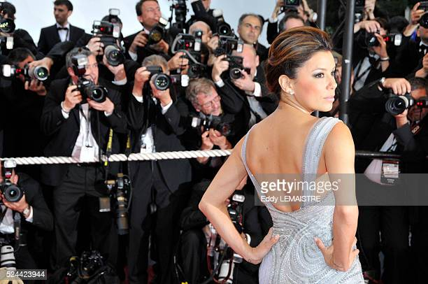 Eva Longoria attends the premiere of Bright Star during 62nd Cannes Film Festival