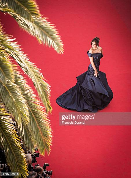 Eva Longoria attends the Premiere of 'Carol' during the 68th annual Cannes Film Festival on May 17 2015 in Cannes France