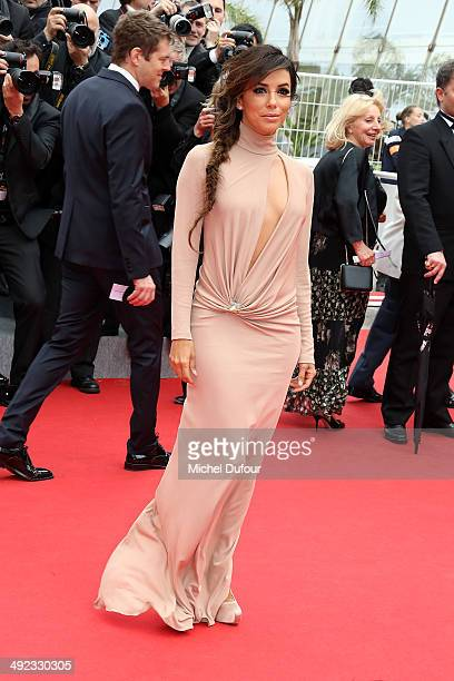 Eva Longoria attends the Premiere of 'Foxcatcher' at the 67th Annual Cannes Film Festival on May 19 2014 in Cannes France