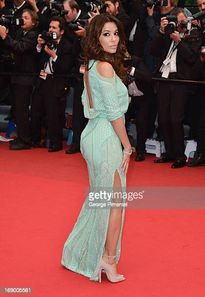 Eva Longoria attends the Premiere of 'Jimmy P ' at The 66th Annual Cannes Film Festivalon May 18 2013 in Cannes France