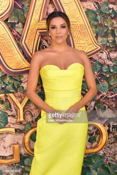 Eva Longoria attends the LA Premiere of Paramount Pictures' Dora And The Lost City Of Gold at Regal Cinemas LA Live on July 28 2019 in Los Angeles...